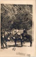 D65  GAVARNIE    .....  (1922) ( Avec âne )  Carte Photo - Gavarnie