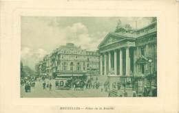 BRUXELLES - Place De La Bourse - Squares