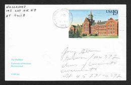 United States - Scott #UX159 Used (2) - Interi Postali