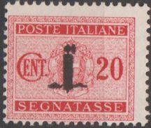 Italie République Sociale 1944 RSI N° 62 Sans Gomme (E14) - Postage Due