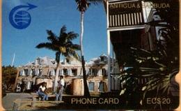 Antigua & Barbuda - ANT-1C, Nelsons Dockyard, 1CATC, 10.000ex, 1989, Used - Antigua And Barbuda
