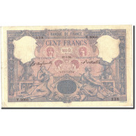 France, 100 Francs, 100 F 1888-1909 ''Bleu Et Rose'', 1896, 1896-05-25, KM:65b - 1871-1952 Anciens Francs Circulés Au XXème