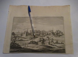 Herdersem :  Kaart Uit Sanderus 1735 - Aalst