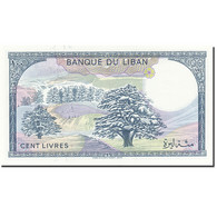 Lebanon, 100 Livres, 1964-1978, KM:66c, 1983-1985, SPL - Liban