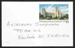 United States - Scott #UX166 Used - Entiers Postaux