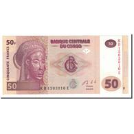 Congo Democratic Republic, 50 Francs, 2013, 2013-06-30, NEUF - Republic Of Congo (Congo-Brazzaville)