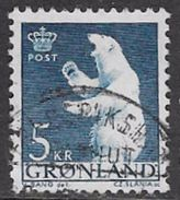 Greenland SG61 1963 Definitive 5k Good/fine Used [34/29228/6D] - Greenland