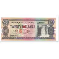 Guyana, 20 Dollars, Undated (1989), KM:27, NEUF - Guyana
