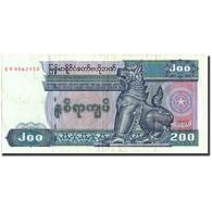 Myanmar, 200 Kyats, Undated (1991-1998), KM:75a, TTB - Myanmar