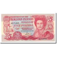 Falkland Islands, 5 Pounds, 1983, KM:12a, 1983-06-14, NEUF - Islas Malvinas