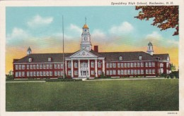 New Hampshire Rochester Spaulding High School Curteich - Rochester