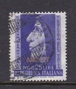 Trieste Allied Military Government S 154 1952 Savonarola, Used - 7. Trieste