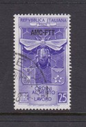 Trieste Allied Military Government S 166 1953 Labour Order Of Merits, Used - 7. Trieste