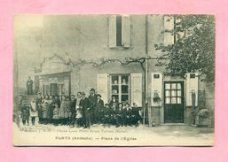 07 - ARDECHE - PLATS Prés LAMASTRE / VERNOUX En VIVARAIS - PLACE DE L'EGLISE - France