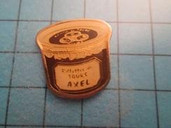 Pin116a Pin's Pins / RILLETTES DE TOURS AXEL   , Belle Qualité ;  Marquage Au Dos : --- - Alimentation