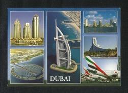 United Arab Emirates UAE Dubai Picture Postcard 6 Scene Dubai View Card U A E - Dubai
