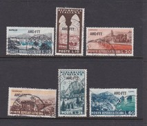 Trieste Allied Military Government S 188-193 1954 Tourism, Used - 7. Trieste