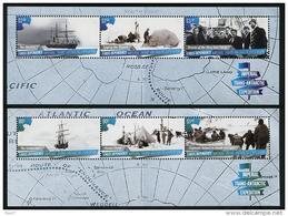 ROSS Dependency 2015 - Bateaux, Expédition Impériale En Antarctic - 2 BF Neufs // Mnh - Neufs