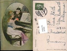 547996,Künstler AK A. Retzer Liebe Liebespaar Paar Klavier - Paare