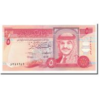 Jordan, 5 Dinars, 1992, KM:25a, NEUF - Jordanie