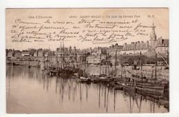 CPA-AP217-SAINT MALO UN COIN DE L AVANT PORT 190? - Saint Malo