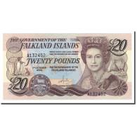 Falkland Islands, 20 Pounds, 1984, KM:15a, 1984-10-01, NEUF - Islas Malvinas