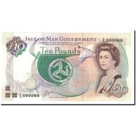 Isle Of Man, 10 Pounds, 1998, KM:44a, NEUF - [ 4] Isle Of Man / Channel Island