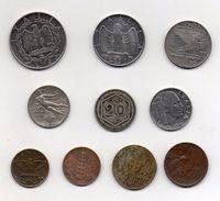 Italia - Lotto 10 Monete Regno - Anni Vari - Vedi Foto - (MW281) - 1861-1946 : Kingdom