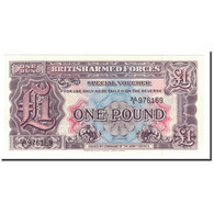 Grande-Bretagne, 1 Pound, 1948, KM:M22a, NEUF - Military Issues