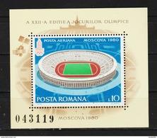 1979 - ROMANIA / STADIUM IN MOSCOW - Altri