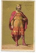 CHROMO - AU COIN MUSARD - B. DUTAR - MELUN - Thierry II - Trade Cards