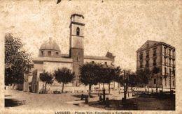 Lanusei - P.zza Vitt. Emanuele E Cattedrale - Viaggiata - 9x14 Cm. (Vedi 2 Foto) Condizioni Mediocri - Autres Villes