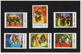 1994 - Le Cirque  Mi No 5026/5031 Et Yv No 4192/4197 MNH - 1948-.... Republiken