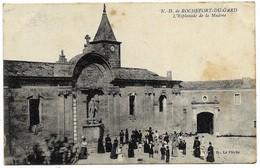E5 30 ROCHEFORT Du Gard Esplanade De La Madone - Rochefort-du-Gard