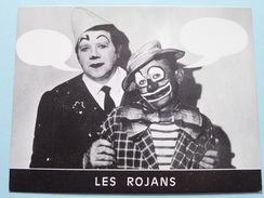 """"""" LES ROJANS """" (Les Rojan's / R. Bischoff - 63 LEZOUX France) Clowns Parodistes Et Musicaux ( Voir Photo Pour Détail ) ! - Théatre & Déguisements"""