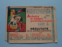 Comité National De Défense Contre La TUBERCULOSE Paris - Nestlé 1930 Farine Lactée ( Voir Photo ) ! - Cachets Généralité