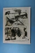 Guerre Italo-éthiopienne Mitrailleur Italien - Guerre, Militaire