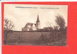 80 FRESNES MAZANCOURT Cpa L ' Eglise Reconstruite En 1931  Edit M J ? - France