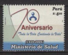Peru (2006) Yv. 1553  / Medecin - Health - Salut - Geneeskunde