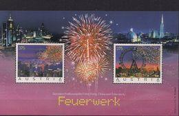 2006  Austria   Österreich  Mi Bl. 34 **MNH  Feuerwerk - Blocs & Feuillets