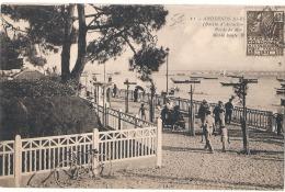 ----  33 ------  ANDERNOS LES BAINS  Bords De Mer à Marée Haute  TTB - Andernos-les-Bains