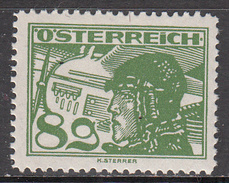 AUSTRIA    SCOTT NO C15     MINT HINGED    YEAR  1925 - Poste Aérienne