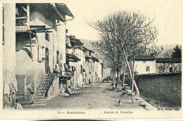 AMBERIEU -- ENTREE  DE  VAREILLES - Autres Communes