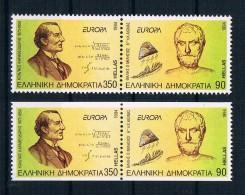 Griechenland 1994 Europa/Cept Mi.Nr. 1848/49 A+C Kpl. Satz ** - Greece