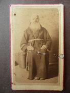 Fotografia Antica 1880  Frate Vincenzo Quesqua San Felice Sul Panaro Modena - Fotografia