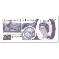 Saint Helena, 50 Pence, Undated (1979), KM:5a, NEUF - Saint Helena Island