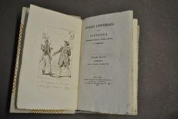 Annali Statistica Economia Storia Viaggi Baleari Battelli Vapore Lombardia 1826 - Livres, BD, Revues