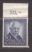6800- Germany , Deutschland 1953 Michel 176  ** Mnh - BRD