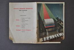 Pubblicità Filati Tessuti Moda Società Anonima Bernocchi Legnano Nizzoli 1930 - Publicités