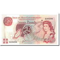 Isle Of Man, 20 Pounds, Undated (2000), KM:45a, NEUF - [ 4] Isle Of Man / Channel Island